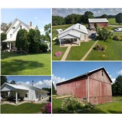 NOW ABSOLUTE AUCTION ! PRIME GENTLEMEN'S / MINI FARM, IN FREDONIA, PA
