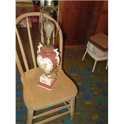 ANTIQUE CERAMIC LAMP