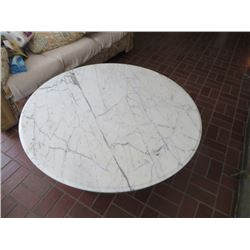 LARGE MARBLE TOP TABLE FROM ITALY