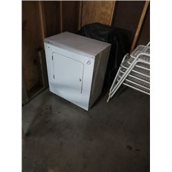SMALL WHITE ELECTRIC DRYER