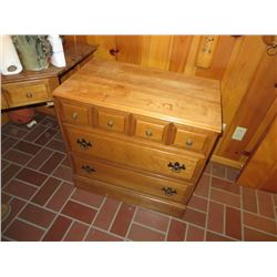 SOLID MAPLE CHEST OF DRAWERS BY JAMESTOWN STERLING CORP