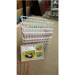 ALL PURPOSE WIRE BASKET WITH HANDLE