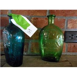 PAIR OF BEAUTIFUL ANTIQUE BOTTLES