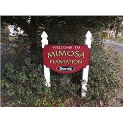 MIMOSA PLANTATION Est 1810 REAL ESTATE AUCTION