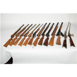 Benjamin Franklin, Hahn, Crosman Arms Co., Challenger Arms Sport, HM QuackenBush. Collection of 13 R