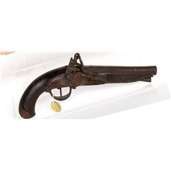 Spanish Percussion Pistol 1790s JMD-11258
