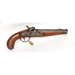 Unknown mfr. Military Contract Pistol 1840s JMD-11465