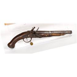 Unknown mfr. Pistol 1780s-1790's JMD-11178