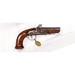 Unknown mfr. Pistol 1790s JMD-11481