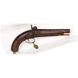 Unknown mfr. Pistol 1840s JMD-11434