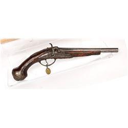 Unknown mfr. Pistol 1840s JMD-11473
