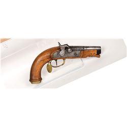 Unknown mfr. Pistol 1850s JMD-11170