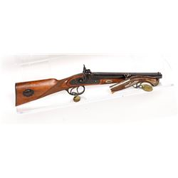 Unknown mfr. Rifle, Double-Barrel and Pistol 1940s JMD-11404