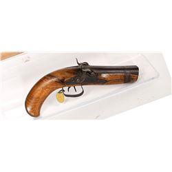 Hoda Pistol, Double-Barrel 1840s JMD-11171