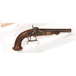 Unknown mfr. Pistol, SxS 1850s JMD-11188