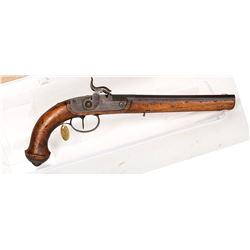 Unknown mfr. Pistol, SxS 1850s JMD-11190