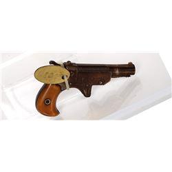 Unknown mfr. Pistol, SxS 1880s JMD-11350