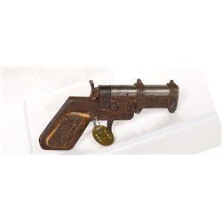 Unknown mfr. Pistol, SxS 1890s JMD-11390
