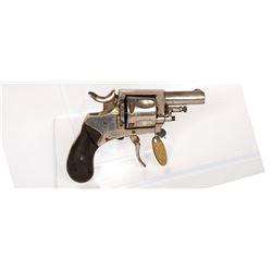 Belgian Bulldog Revolver 1870s JMD-11338