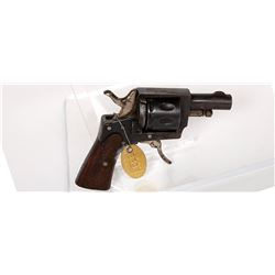 Belgian Revolver 1880s JMD-11348