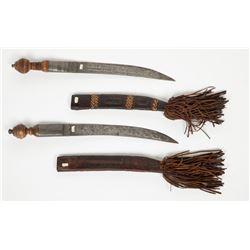 African Knife Pair JMD-12342