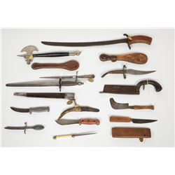 Ornate Vintage Knive Collection JMD-12334