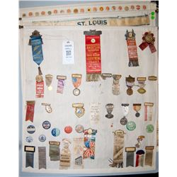 Badge, Medal and Button collection JMD-15101