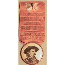 Gen. George Custer, Buffalo NY Breastbadge JMD-15199