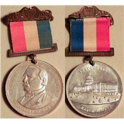 Grover Cleveland Inauguration Breast Badge JMD-15195