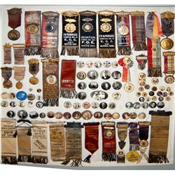Large Badge Collection with Presidential ribbons. JMD-15086