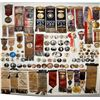 Image 1 : Large Badge Collection with Presidential ribbons. JMD-15086