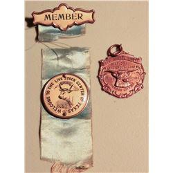 Live stock Badges (2) JMD-15209