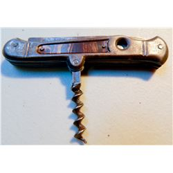 Vintage Pocket Knife with Corkscrew JMD-15049