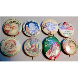 Christmas Buttons (8) JMD-15264