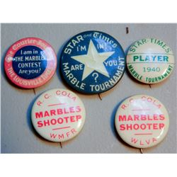 Marbles Buttons (5) JMD-15240