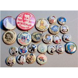 Pop Culture Buttons (25) JMD-15232