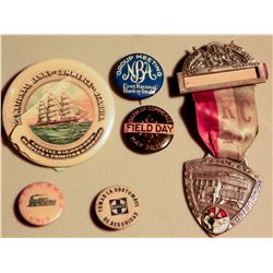 Railroad and Bank Buttons and Breastbadges JMD-15205