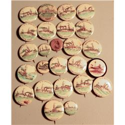SpanishAmerican War/Maine Buttons JMD-15210