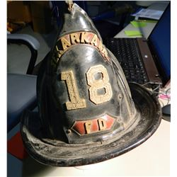 Tex Arcana Leather Fireman Helmet JMD-12115