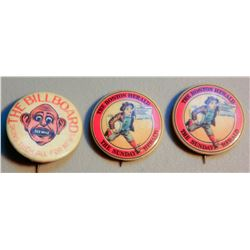 Newspaper Pins (3) JMD-15212