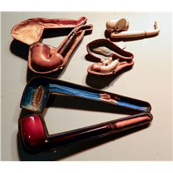 Carved Pipes (4) JMD-15061