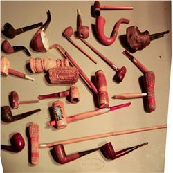 Corncob and other pipes JMD-15078