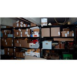 6 Shelves of Misc Antiques JMD-12128