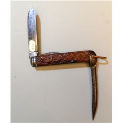 Rare British Pocket Knife JMD-15028