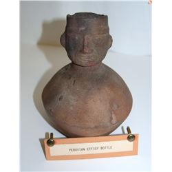 Peruvian Effigy Bottle JMD-15135