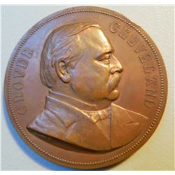 Grover Cleveland Inauguration Medal JMD-15019