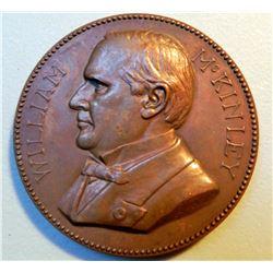 McKinley Inauguration Medal JMD-15012
