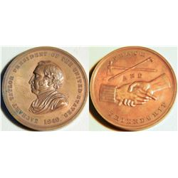 Zachary Taylor Medal JMD-15137