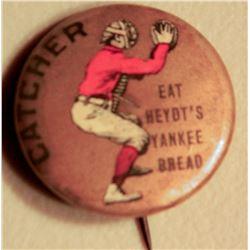 Heydt's Yankee Bread BB Button JMD-15094