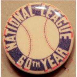 National League BB Button JMD-15095